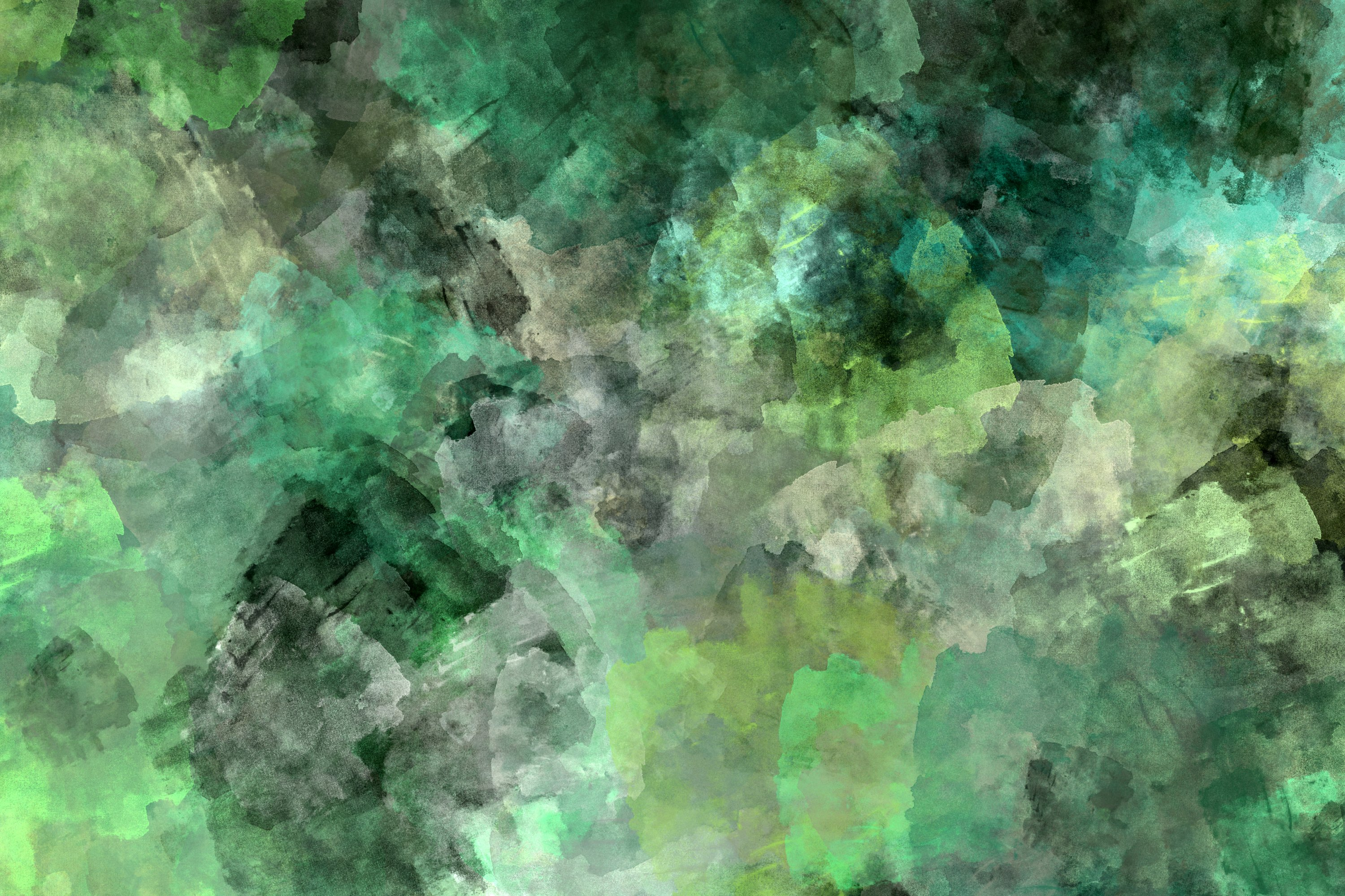 10 Grunge Watercolor Washes Textures example image 3
