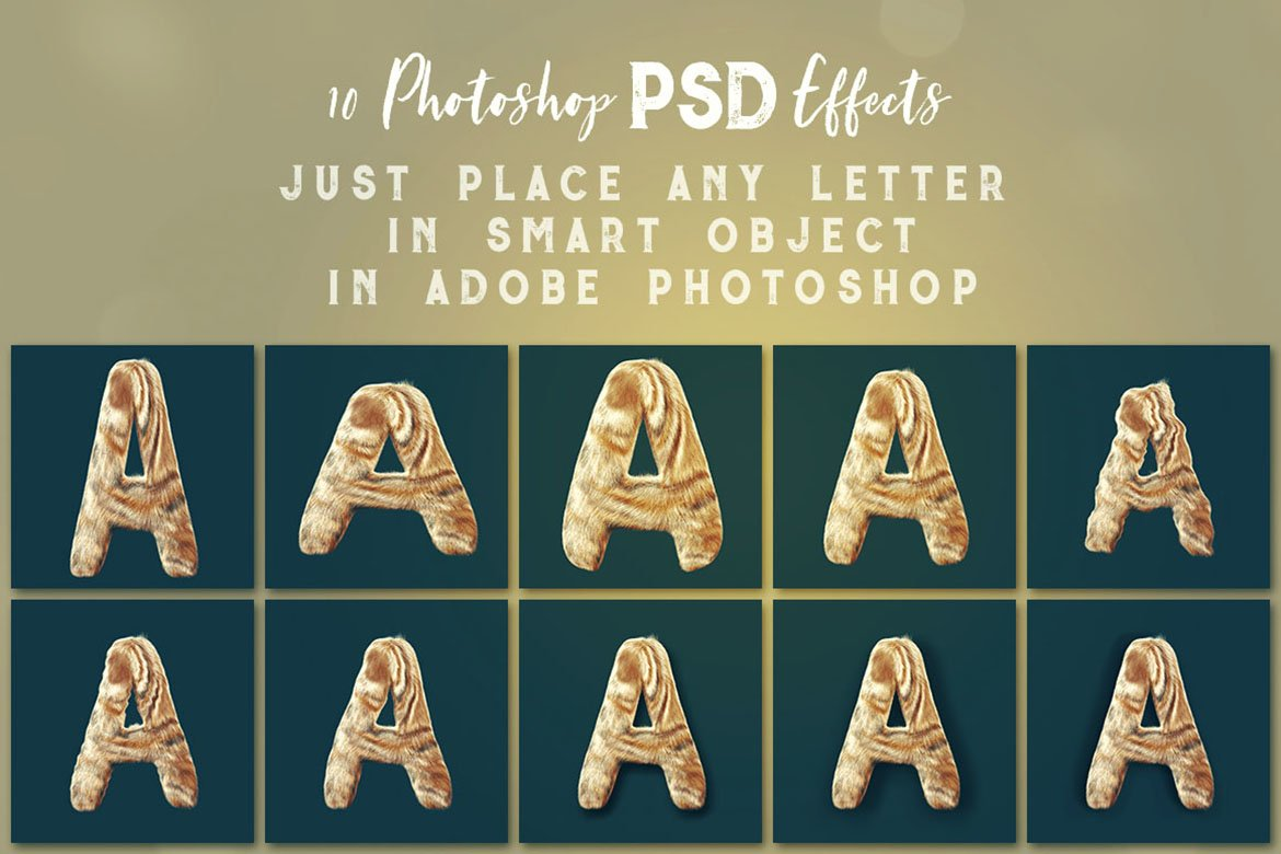 Funny Furry - 3D Lettering example image 4