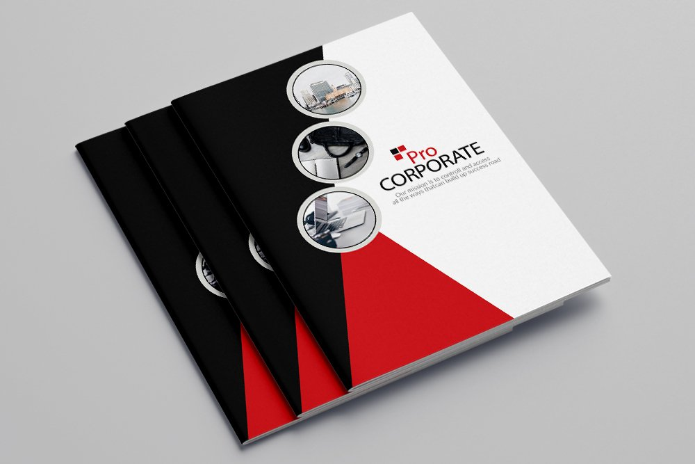 Business Corporate Bifold Brochure 16 Pages example image 1