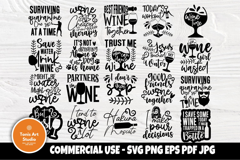Download Wine Svg Bundle Wine Glass Svg Drinking Svg Shirt Designs 763486 Cut Files Design Bundles