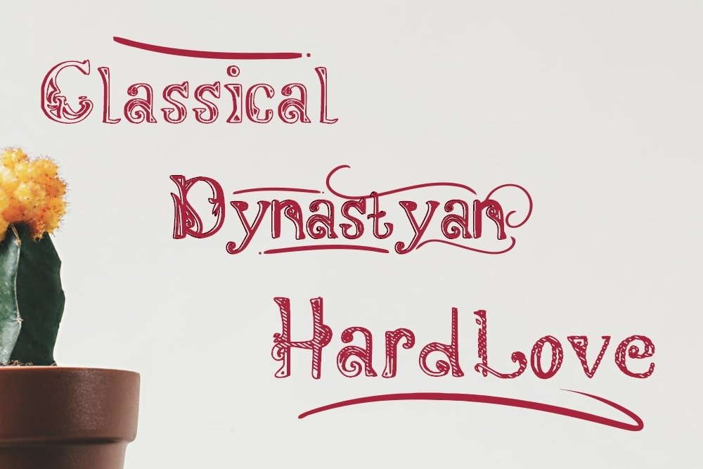 Dynastyan - 5 Font styles and 150 Swashes example image 2