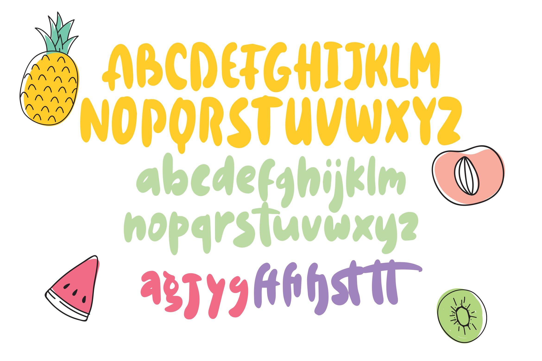 Finjay - Bulky Fancy Font example image 5
