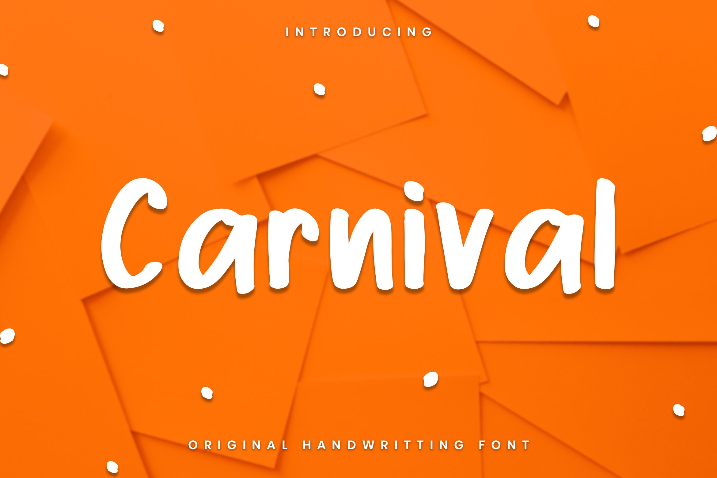 Carnival Font example image 1