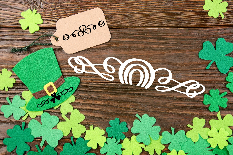 Lucky Dingbats - A Dingbat St Patrick's Day Font example image 5