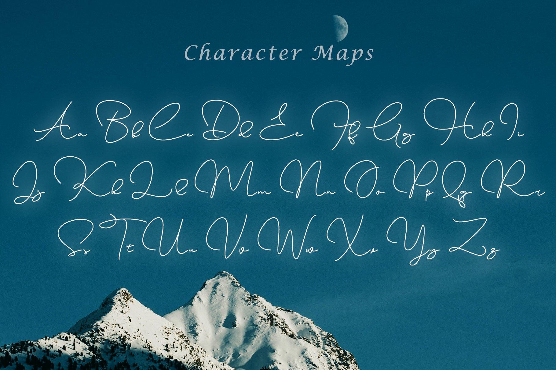 Emmanuella Signature Font example image 4