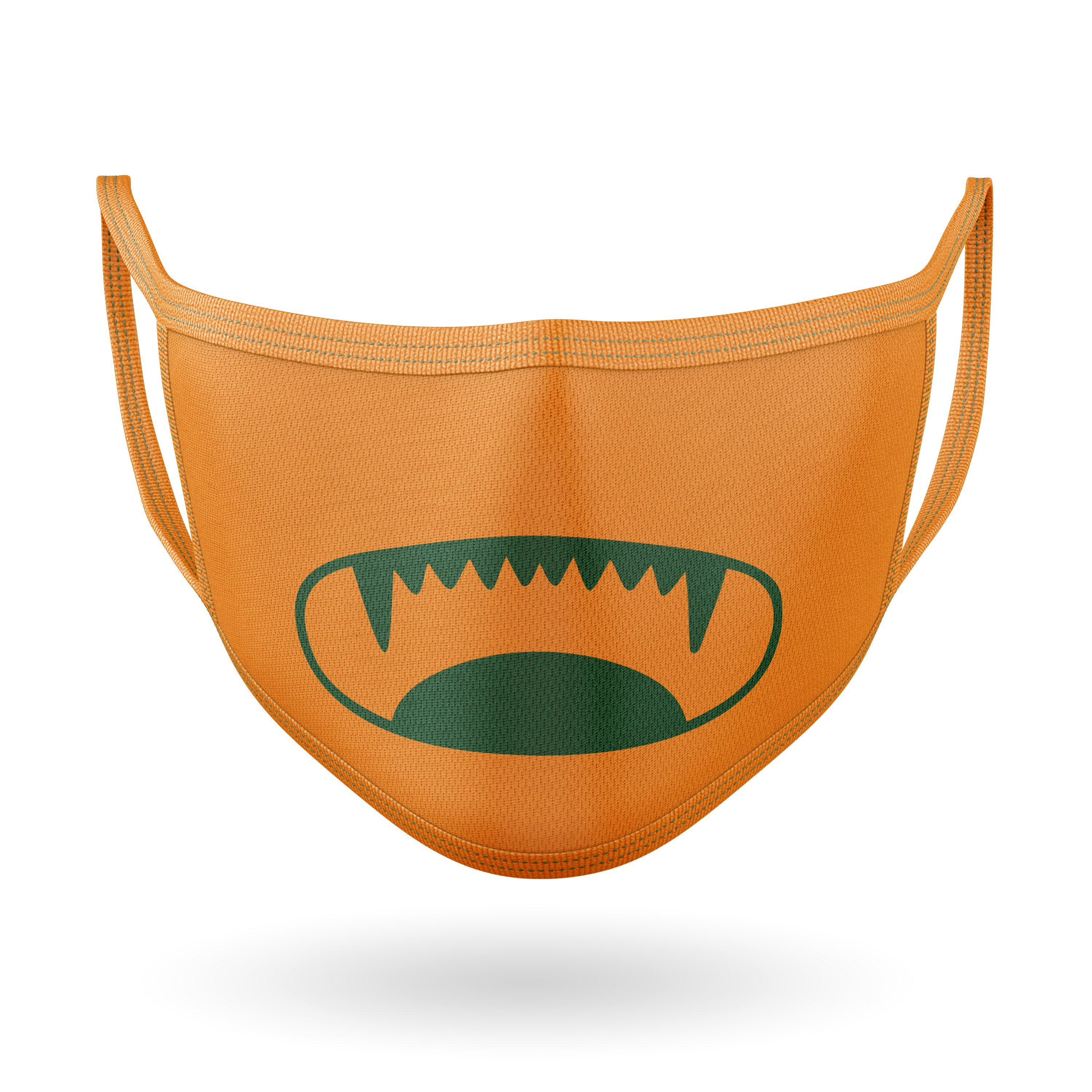 10 Monster Faces for Masks - SVG Cut Files example image 3