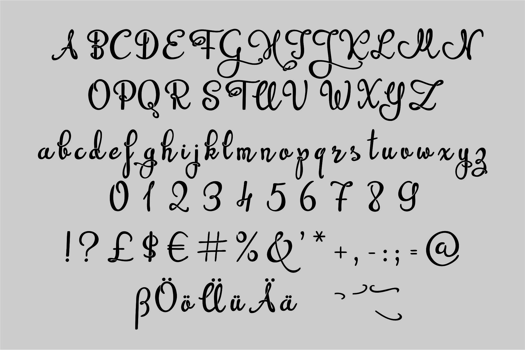 Beprity Stencil Font example image 2