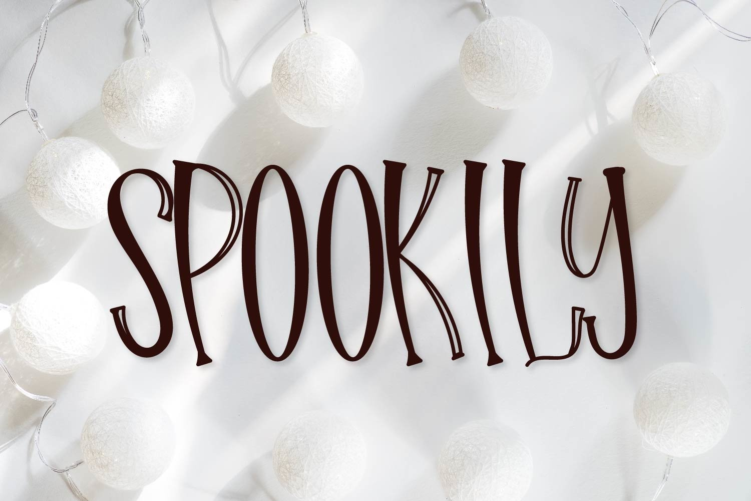 Hello Halloween - A Spooky Font example image 4