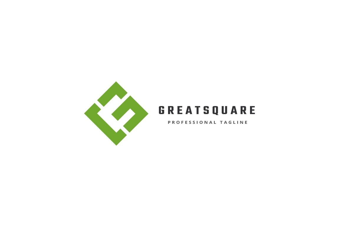 Great Square Letter G Logo example image 3
