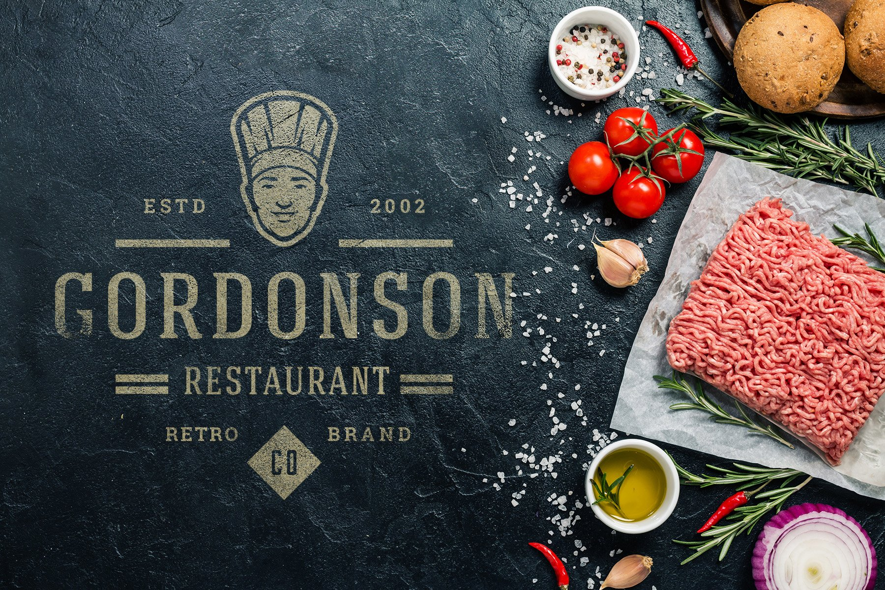 36 Restaurant Logos and Badges example image 18
