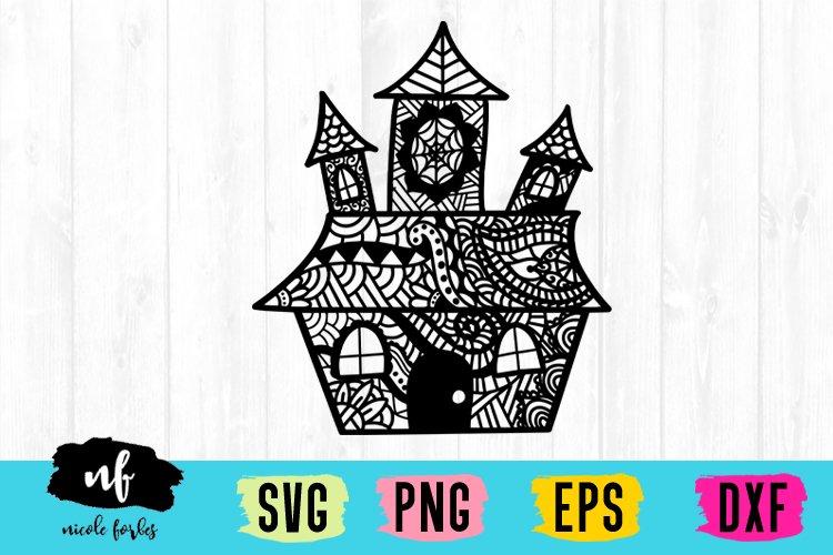 Halloween Zentagle SVG Bundle example image 10