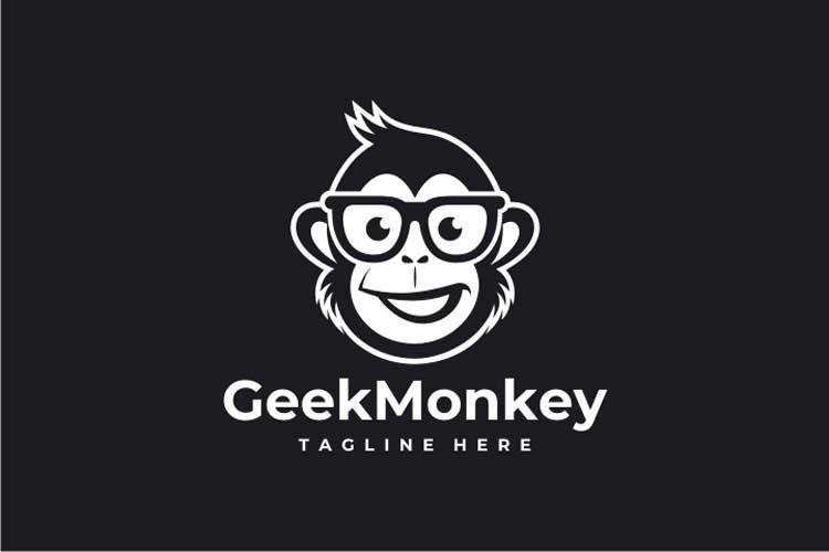 Geek Monkey Logo example image 2