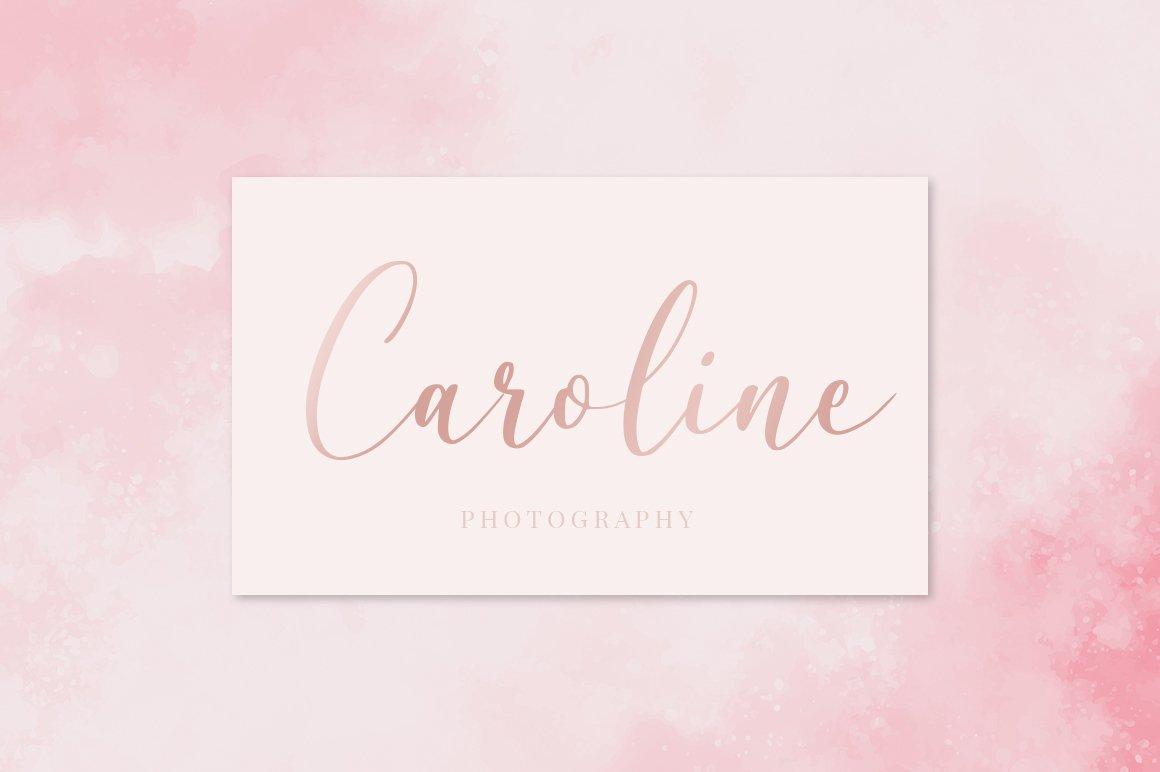 Caroline Script example image 7