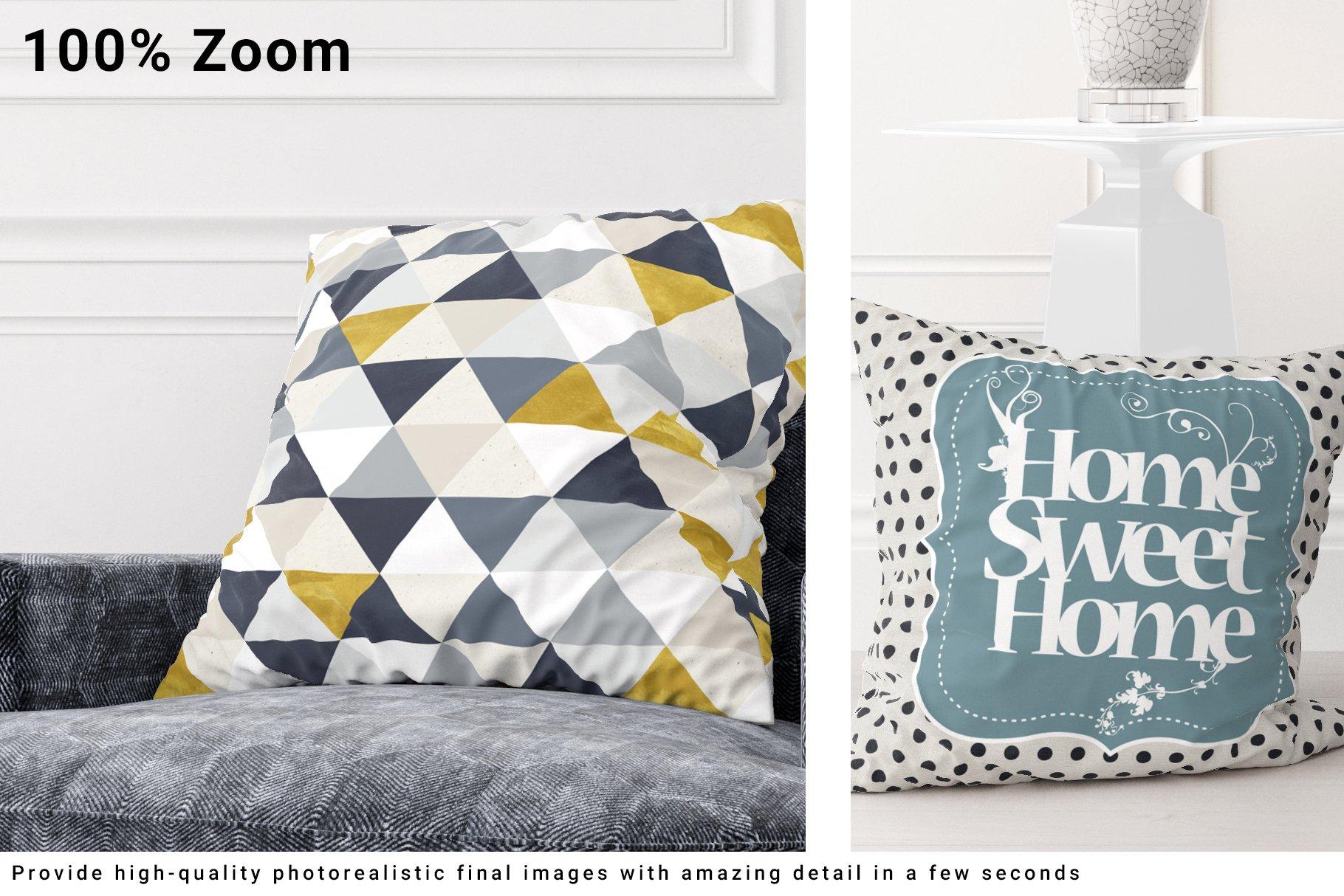 Luxury Interior Throw Pillows Set example image 7
