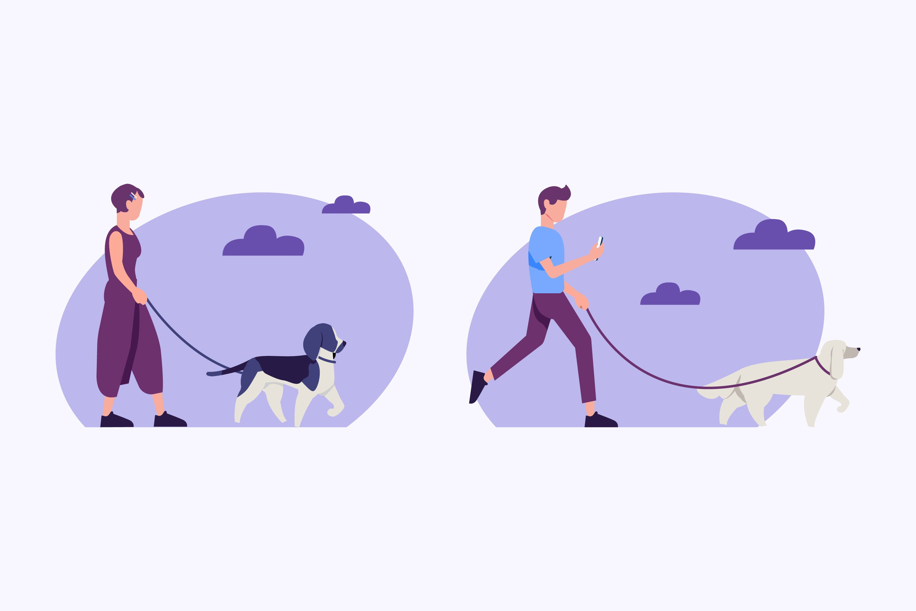 People Walking the Dog example image 1