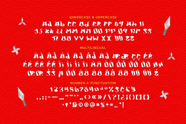 NinjaKid - Playful Display Font example image 5