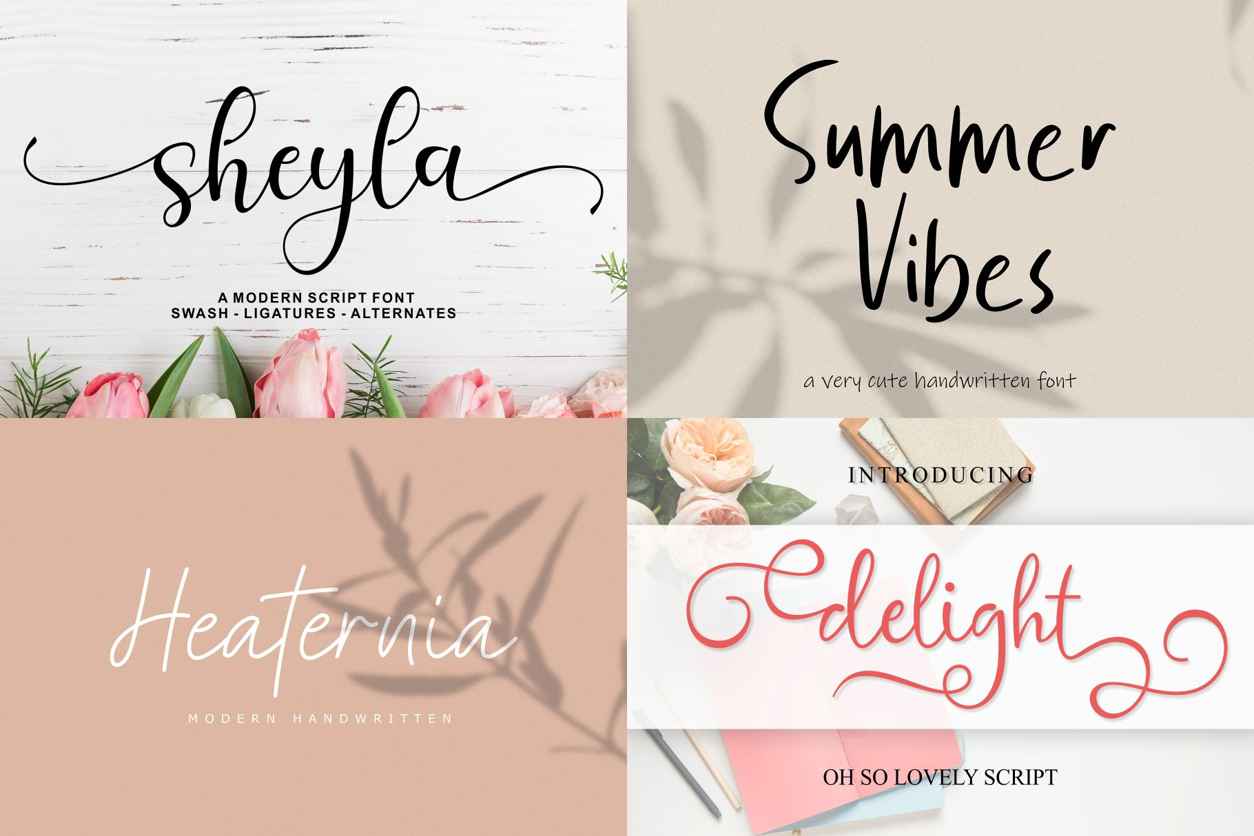 BIG BUNDLE - BEST FONT COLLECTIONS example image 7