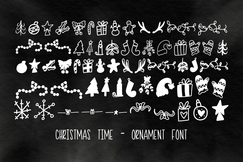 20 Christmas Fonts - A Christmas Font Bundle! example image 5