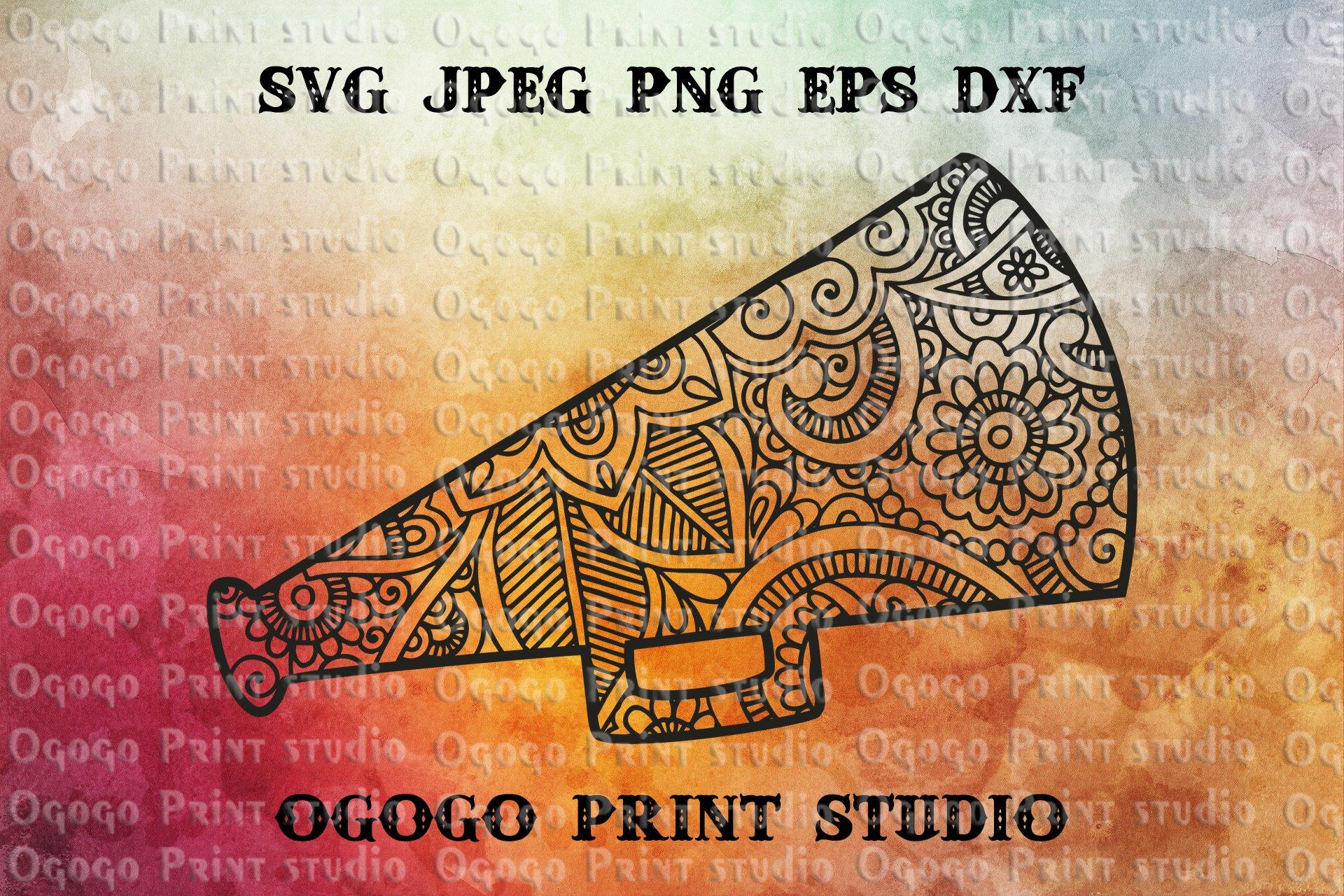 CocoandBanana Svg Megaphone SVG Cut File Dxf Coco and Banana Cheer Clip Art Digital Download Shirt Svg Cheer SVG Cheerleader Svg