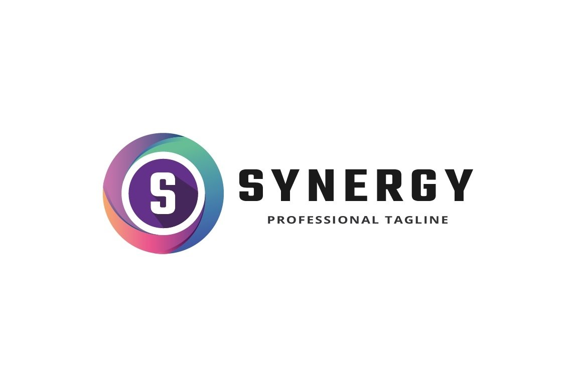 Synergy Letter S Logo example image 2