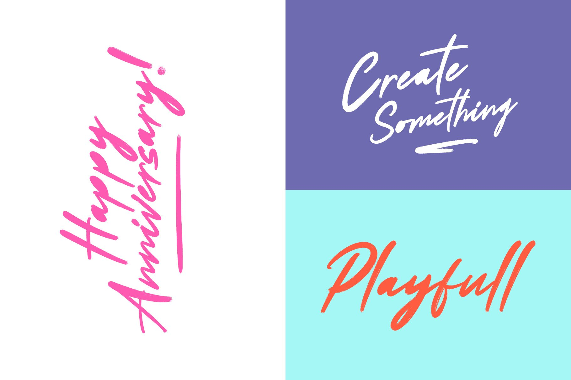Scoutdale | Handwritten Brush Font example image 2