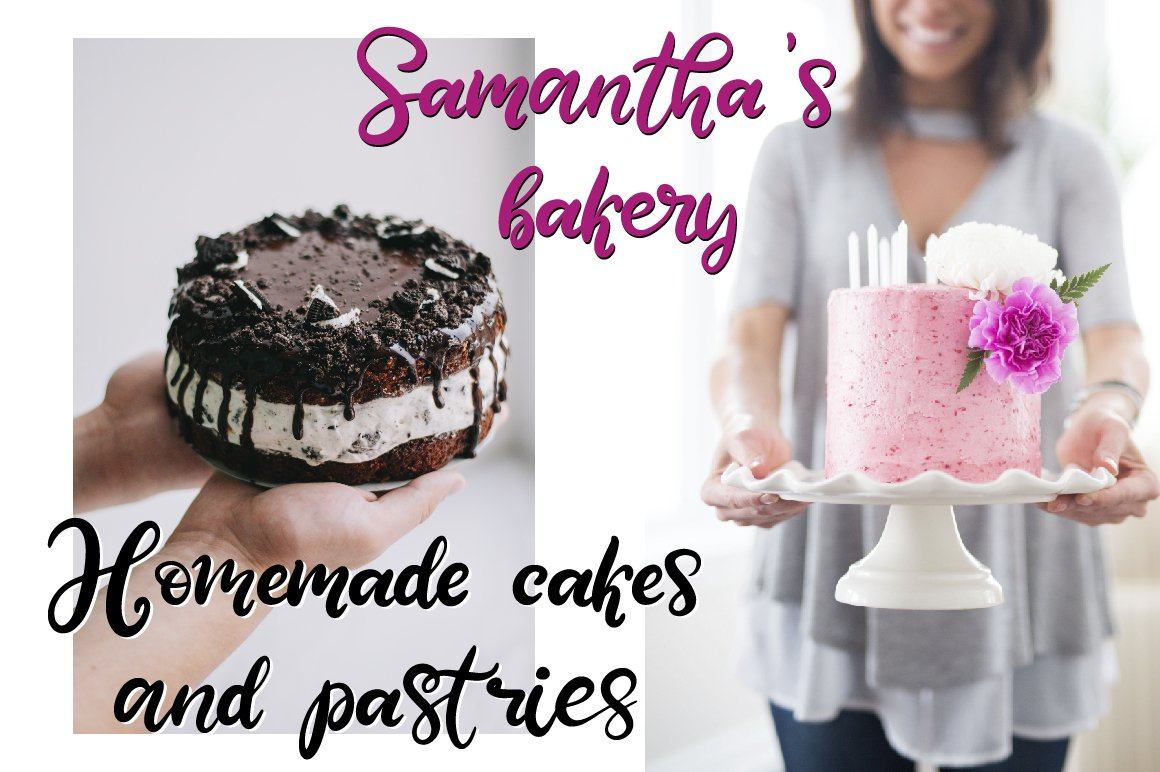 Sweet Tooth. A handwritten script font example image 12