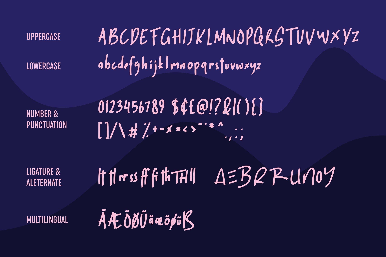 Koobur - Fancy Font example image 3