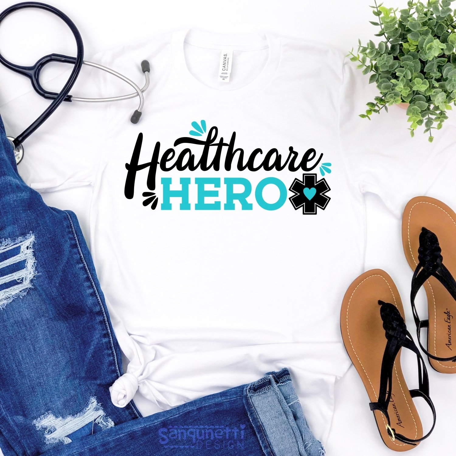 Healthcare hero SVG, nursing and medical svg example image 3