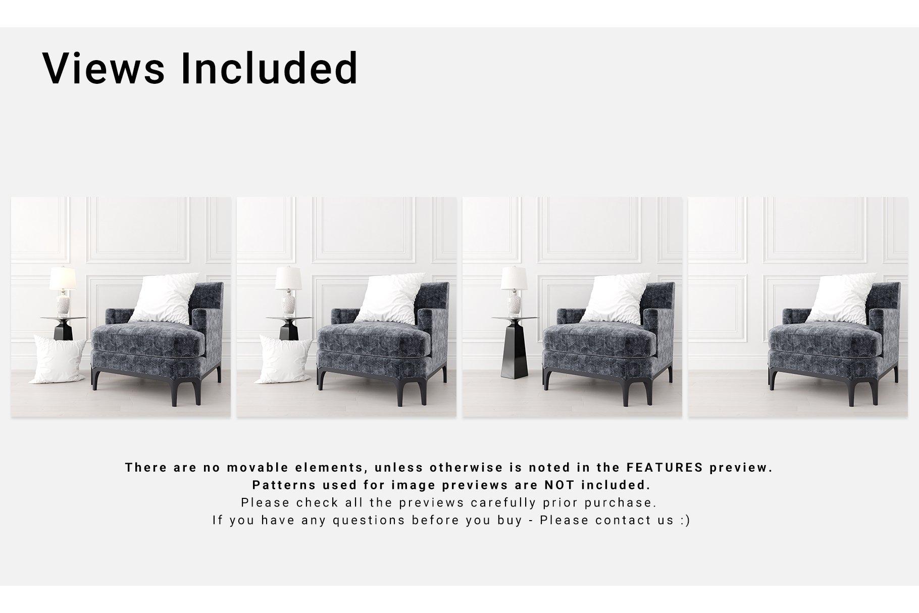 Luxury Interior Throw Pillows Set example image 2