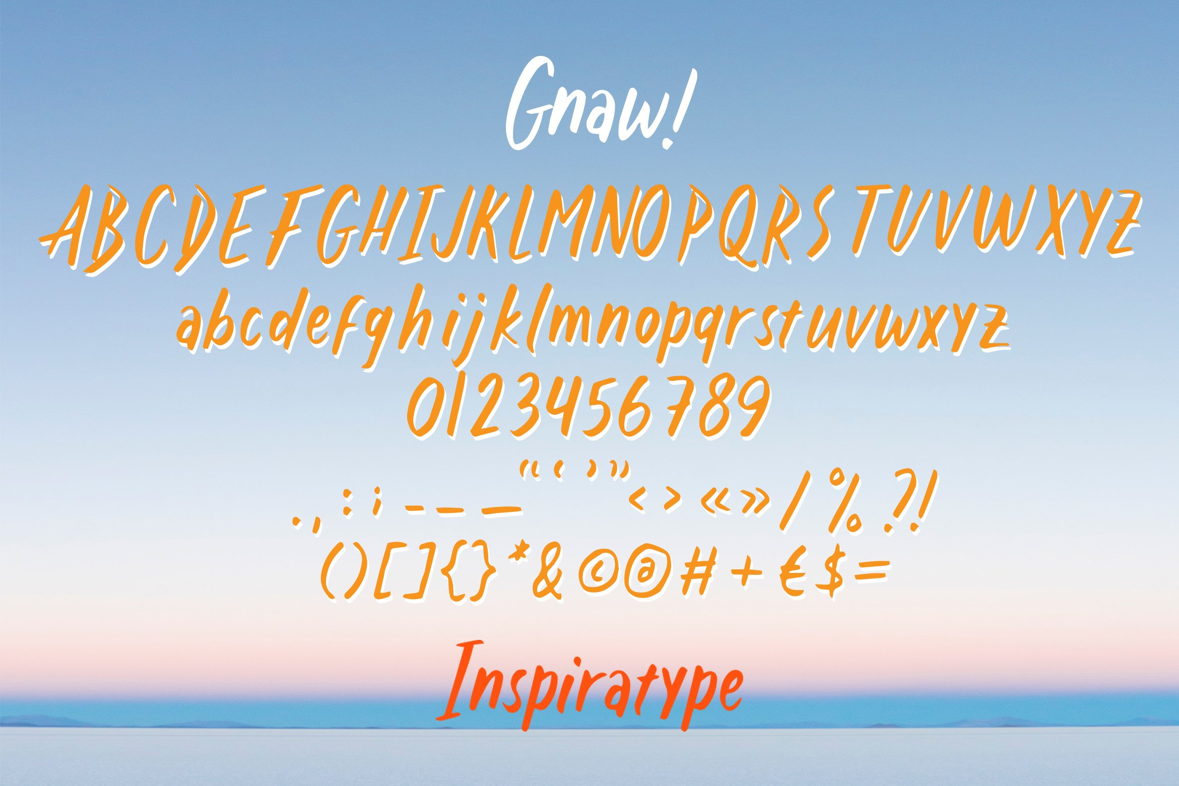 Gnaw - Kid's Fancy Font example image 5