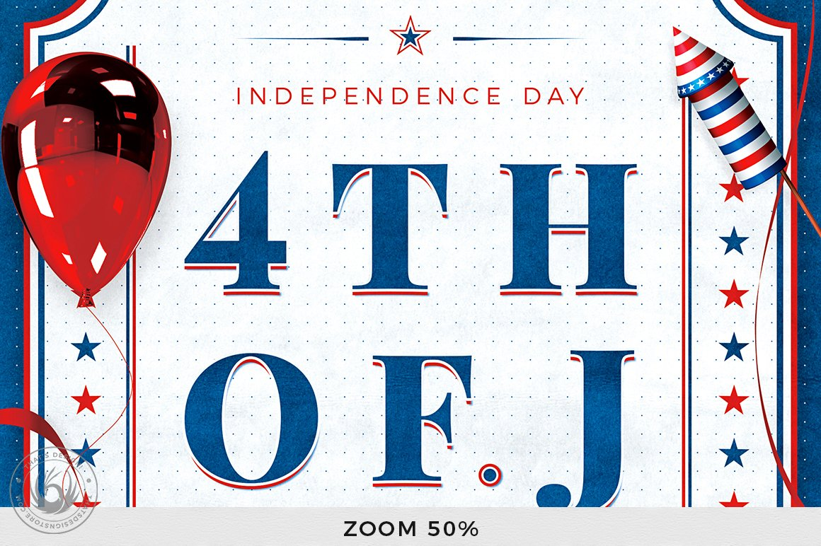 Independence Day Flyer Template V3 example image 7