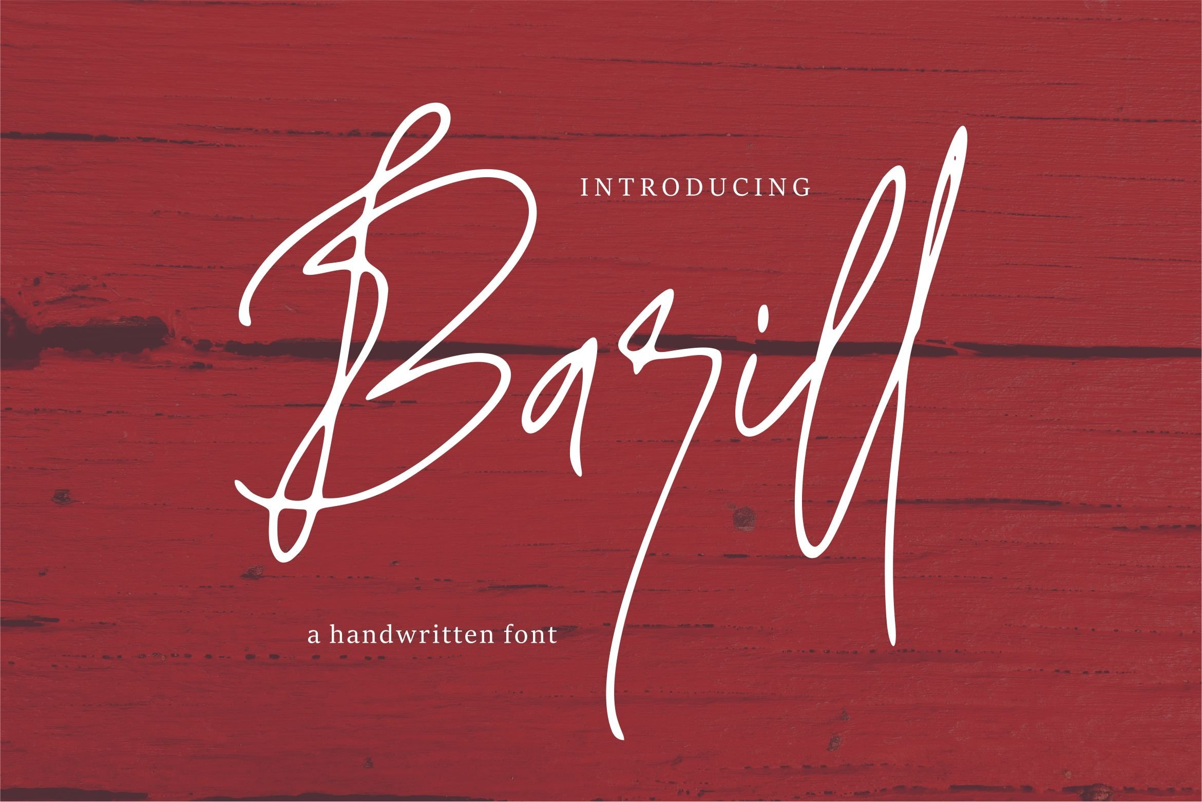 Barill - A Handwritten Font example image 1