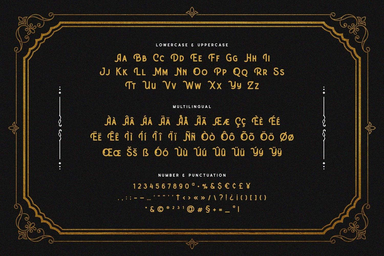 Absolatte - Vintage Luxury Font example image 5