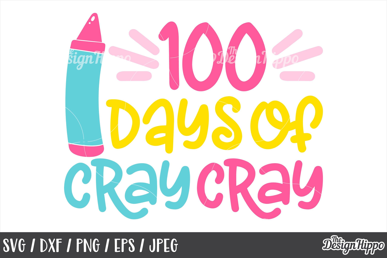 100 Days Of School Svg 10 Designs Bundle Png Cut Files 191775 Cut Files Design Bundles