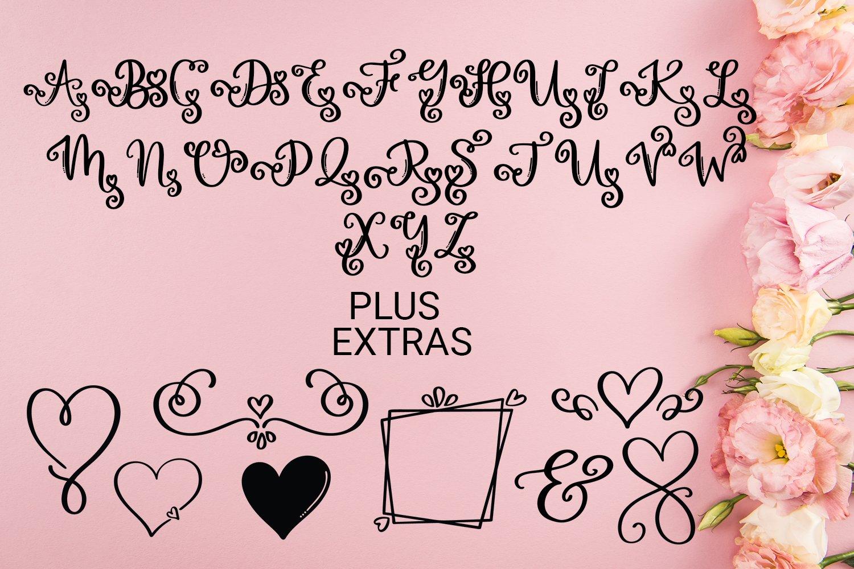 Love Monogram example image 4