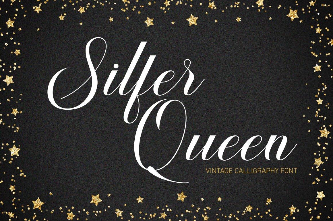 Silfer Queen Script example image 1
