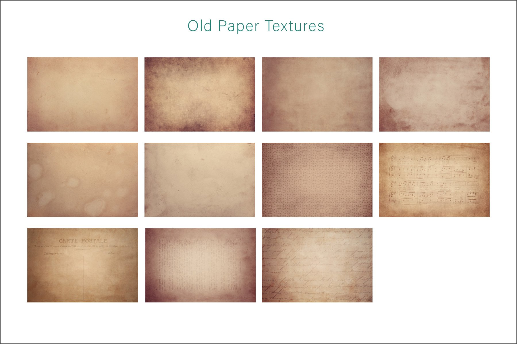 Photo Art Old Textures Bundle example image 4