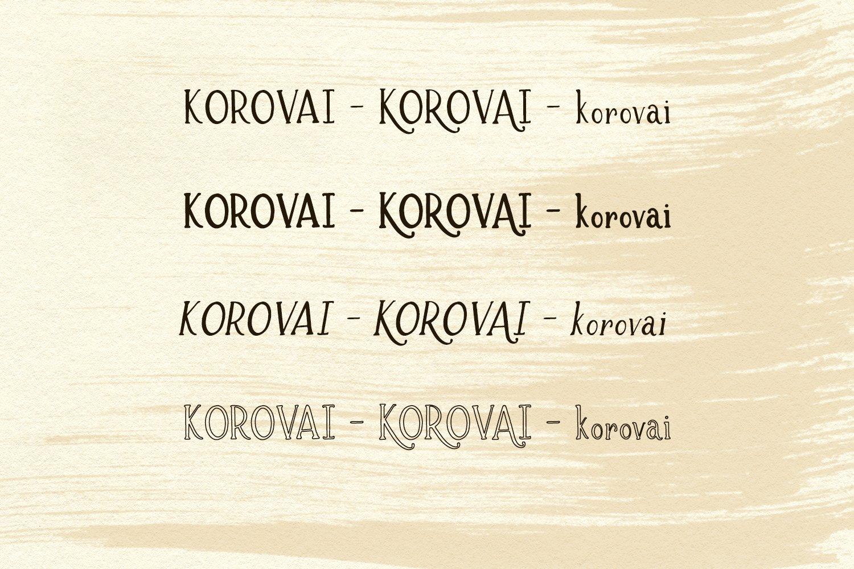 Brioche Rustic Serif Font Family example image 7
