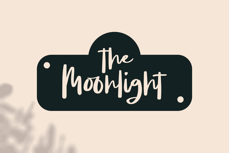Moonsight - Script Fonts example image 2