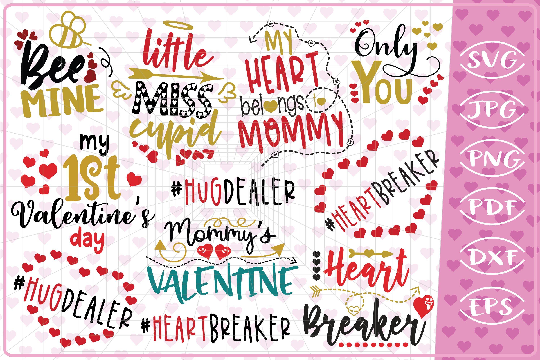 Valentine S Bundle 11 Love Quotes Cutting Files Valentine S 196036 Cut Files Design Bundles