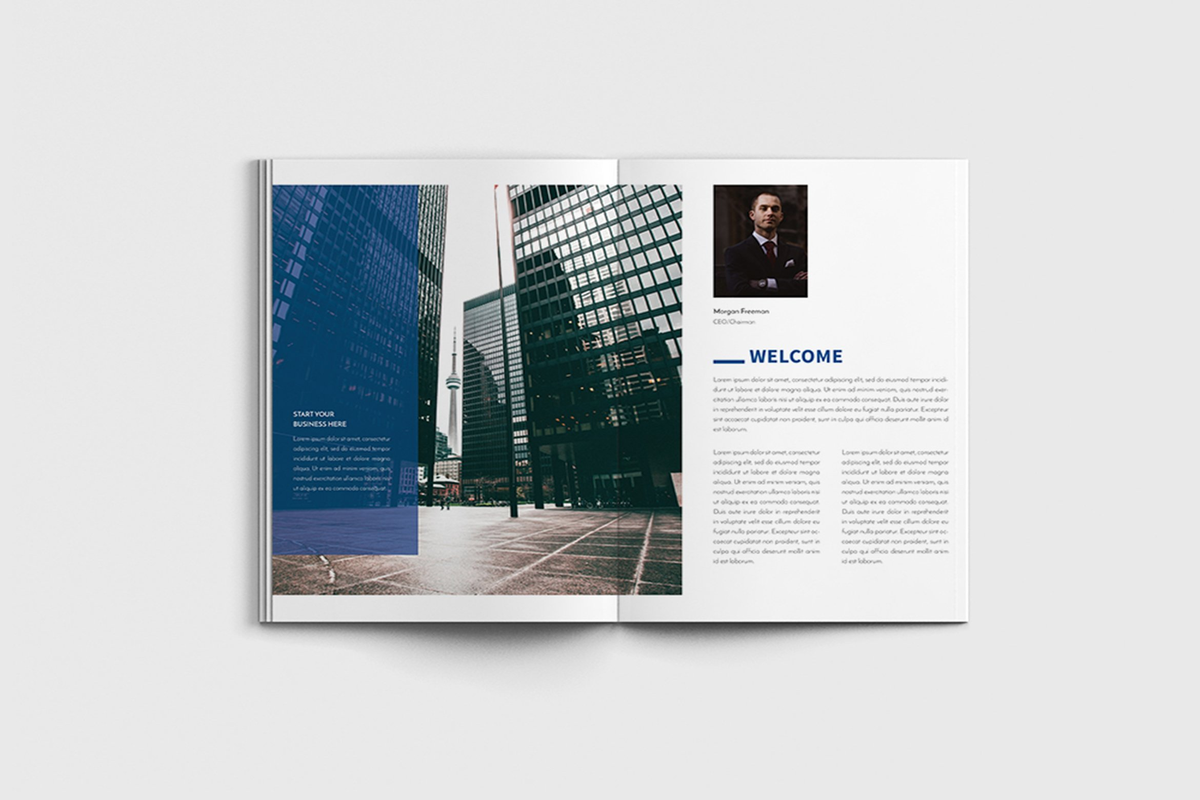 Walkers - A4 Business Brochure Template example image 10