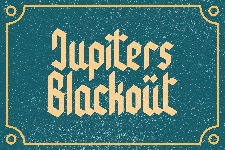 Caktous - Blackletter Font example image 6