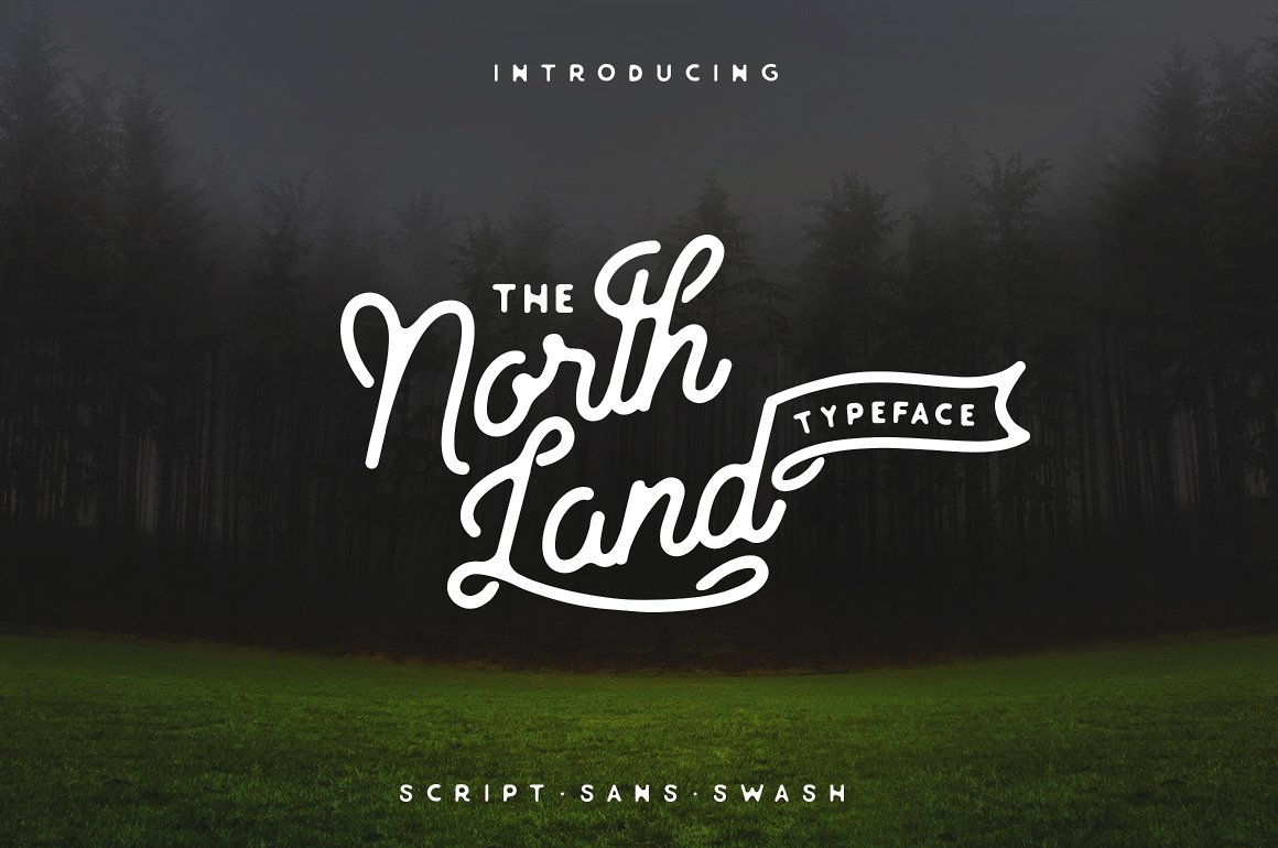 North Land Font Duo example image 3