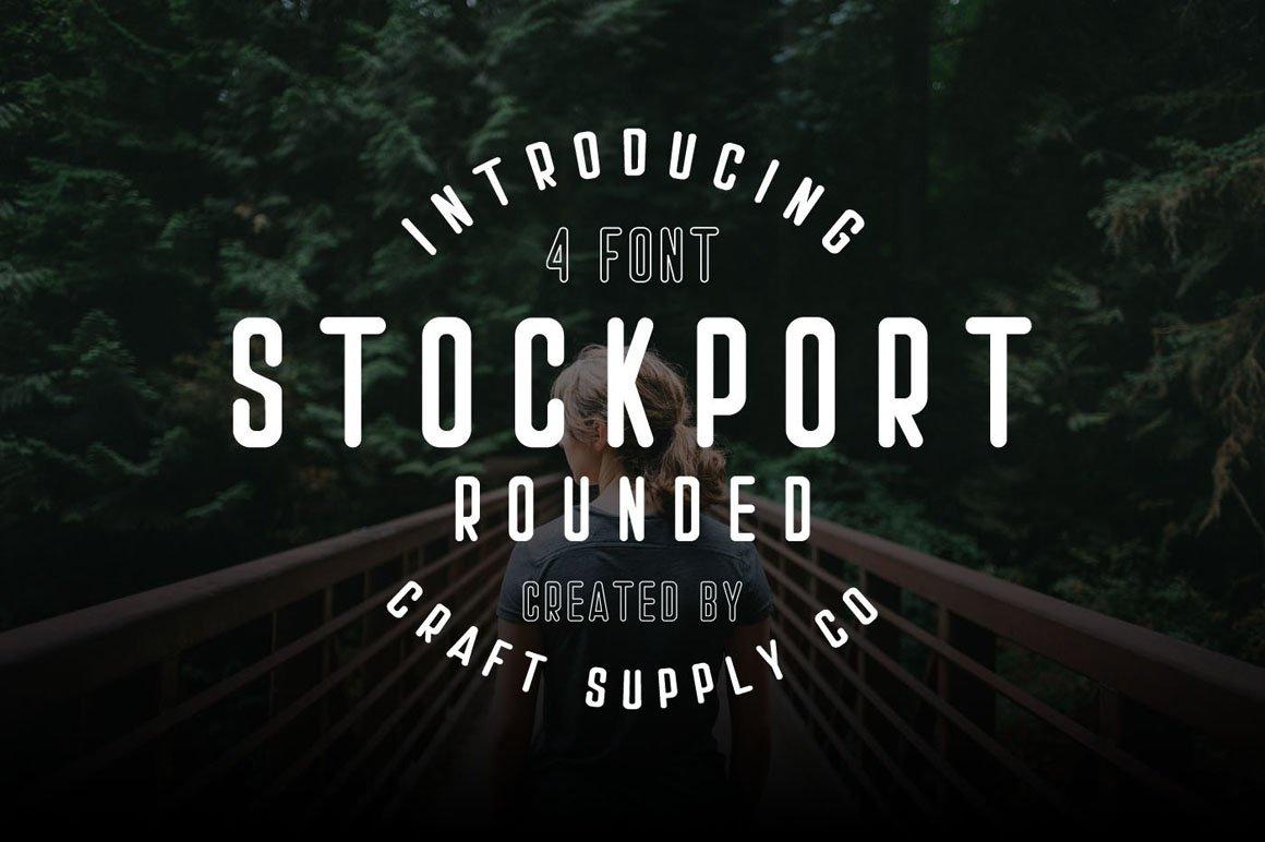 Stockport Rounded + Bonus Logo example image 10