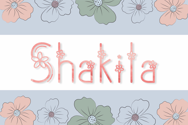 Shakila example image 1