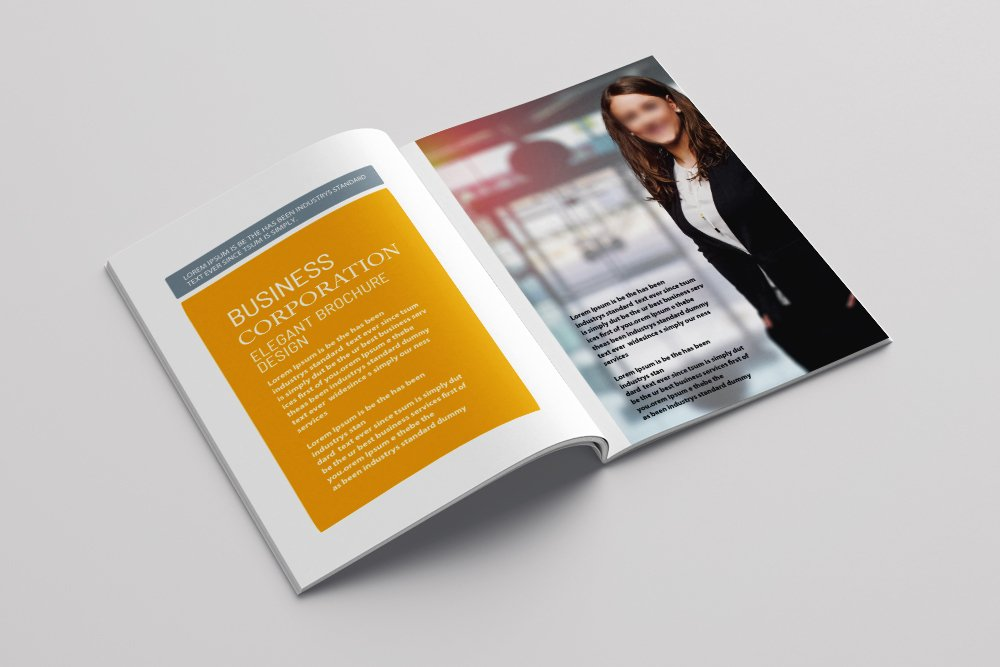 Business Annual Report Brochure 16 Pages example image 7