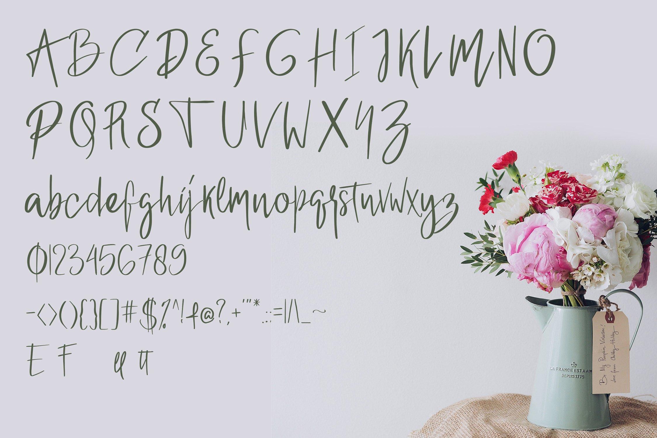 Berlinda - Handwritten Font example image 2
