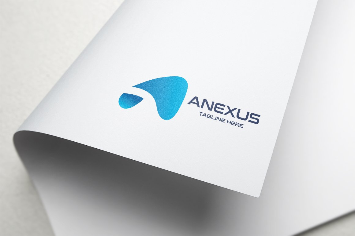 Anexus Letter A Logo example image 1