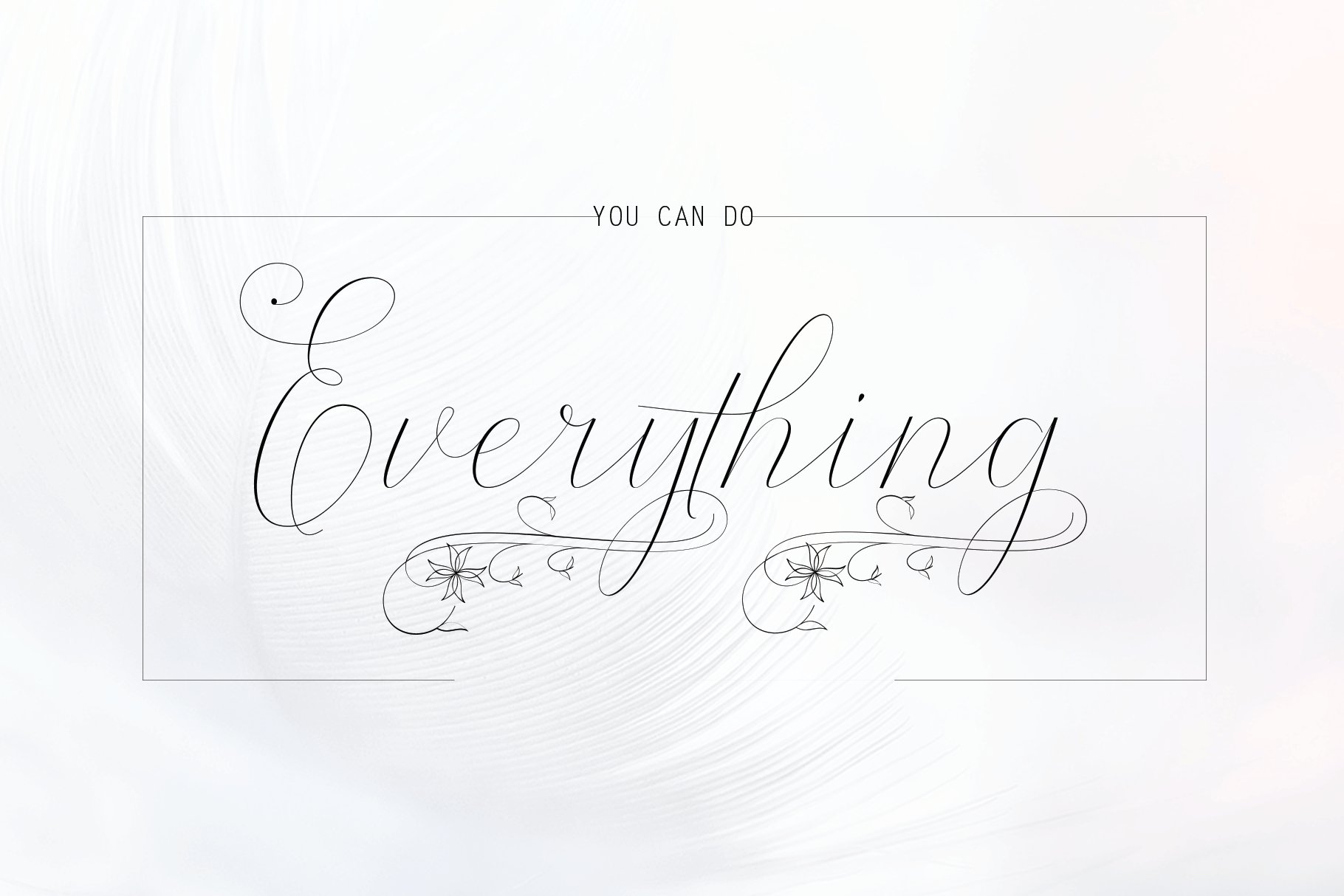 12 graceful charming fonts example image 20