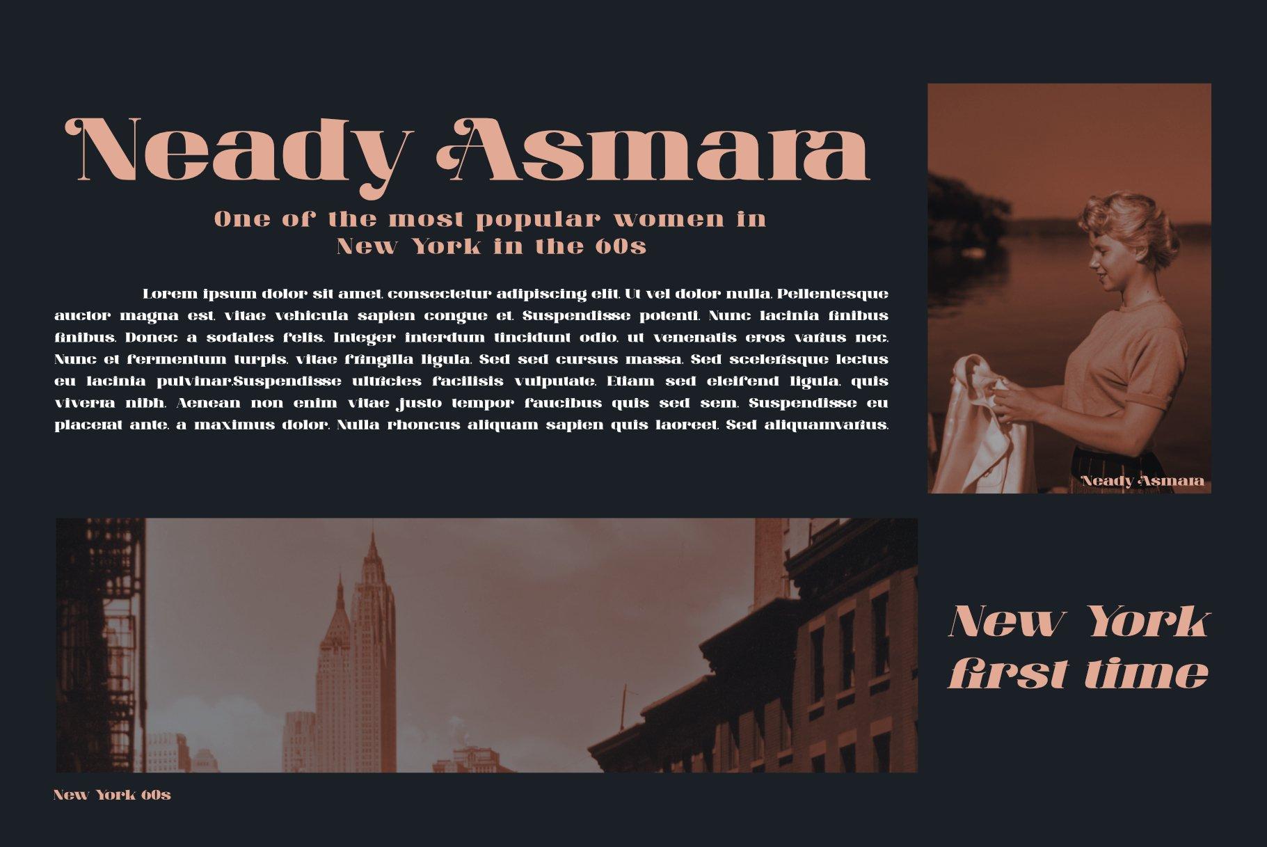 ANTONIA - The Classino Serif example image 13